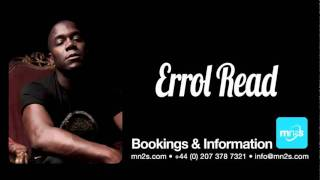 Errol Reid - Available exclusively for Live PA bookings worldwide