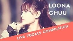 [LOONA/CHUU] SINGING/LIVE VOCALS COMPILATION