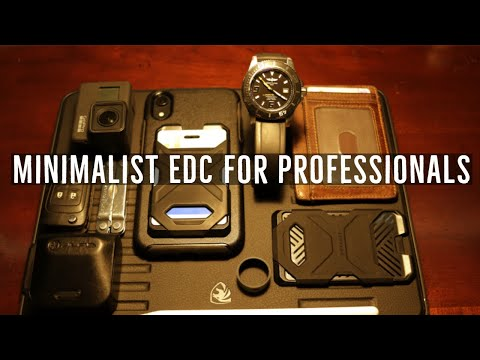 Minimalist Everyday Carry | 2020 EDC For Professionals