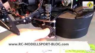scx10 tuning einbau von axial c hub high clearence knuckels ax10 scorpion achsen