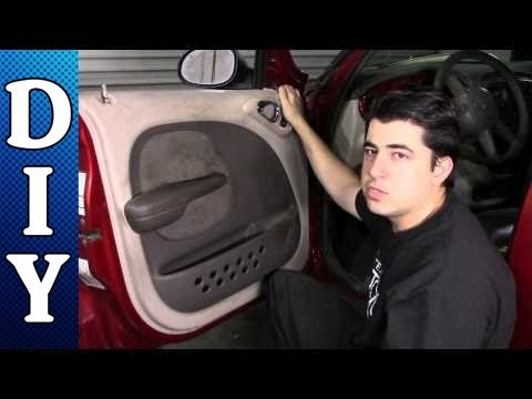 How To Remove And Replace A Door Panel Chrysler Pt