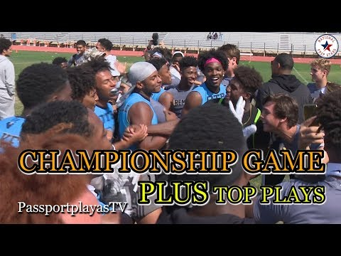 2018 Passing Down Southwest Regionals - Championship Game PLUS Top Plays