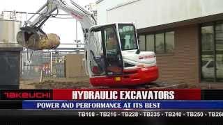 Takeuchi Hydraulic Excavators Thumbnail