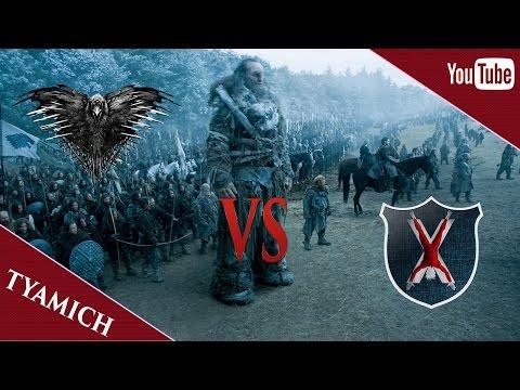 Seven Kingdoms Total War Attila - Одичалые Против Болтонов