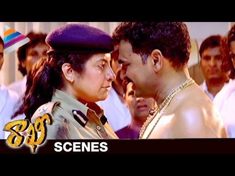 Suhasini Challenges Sayaji Shinde | Rakhee Telugu Movie Scenes | NTR | Ileana | Telugu Filmnagar