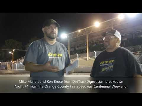 Orange County Fair Speedway Recap 8/15/19