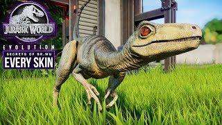 TROODON | Every Skin, Kill Animations, Venomous Bite (Jurassic World: Evolution New Dinosaur)