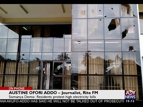 Somanya Demonstration - The Pulse on JoyNews (26-5-17)