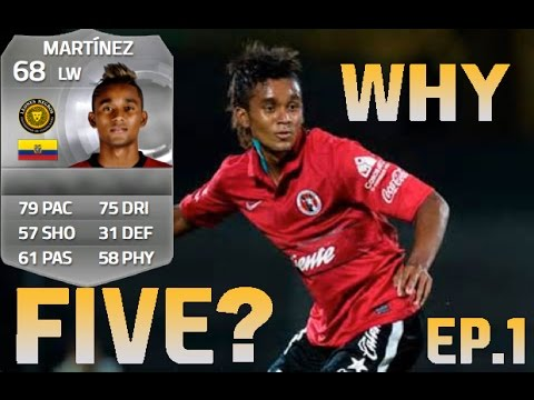 FIFA 15 | Why Five? Ep.1 - Fidel Martinez 68 - FUT Skiller Review & Analysis