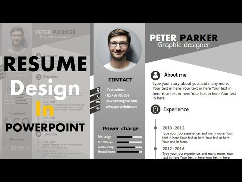 How To Make Professional CV On PowerPoint