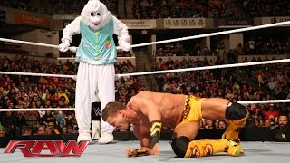 Adam Rose & The Bunny vs. Tyson & Natalya - Raw, November  24, 2014