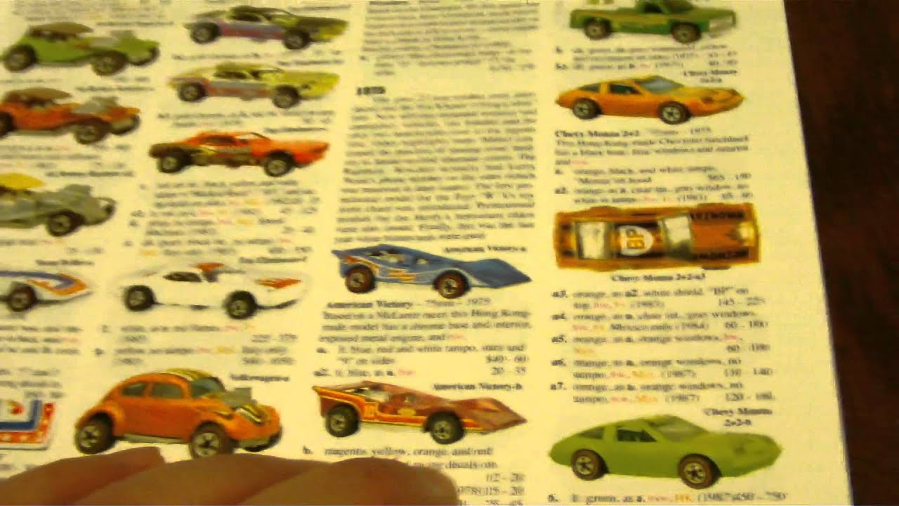 TOMARTS VOLUME 6 HOT WHEELS PRICE GUIDE - YouTube