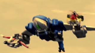 Power Rangers RPM - The Power Rangers summon their Zords