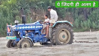 किसान की लाइफ स्टाइल Farmtrac 60 with Suhaga Kissan life style