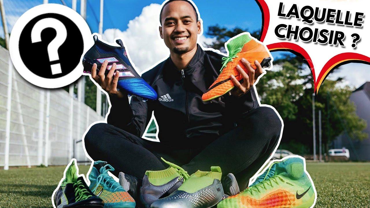 Quelles sont les meilleures chaussures de foot montantes ?
