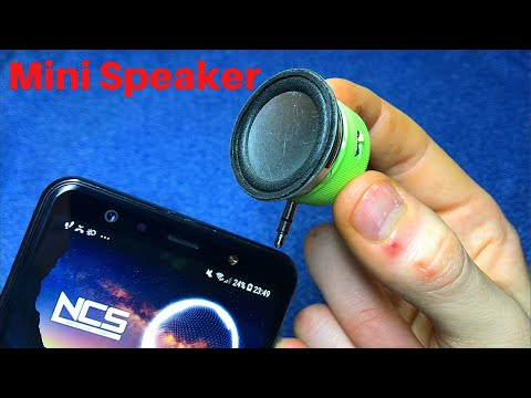 How to make a mini speaker from a bottle cap