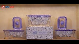 Borosiligate Glass Artight Container, Wadah Serbaguna Solusi Makanan Tahan Lama