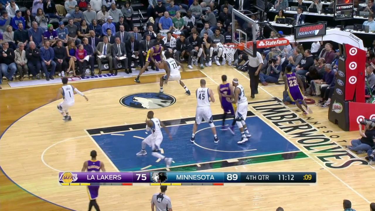 Los Angeles Lakers vs Minnesota Timberwolves | November 13 ...