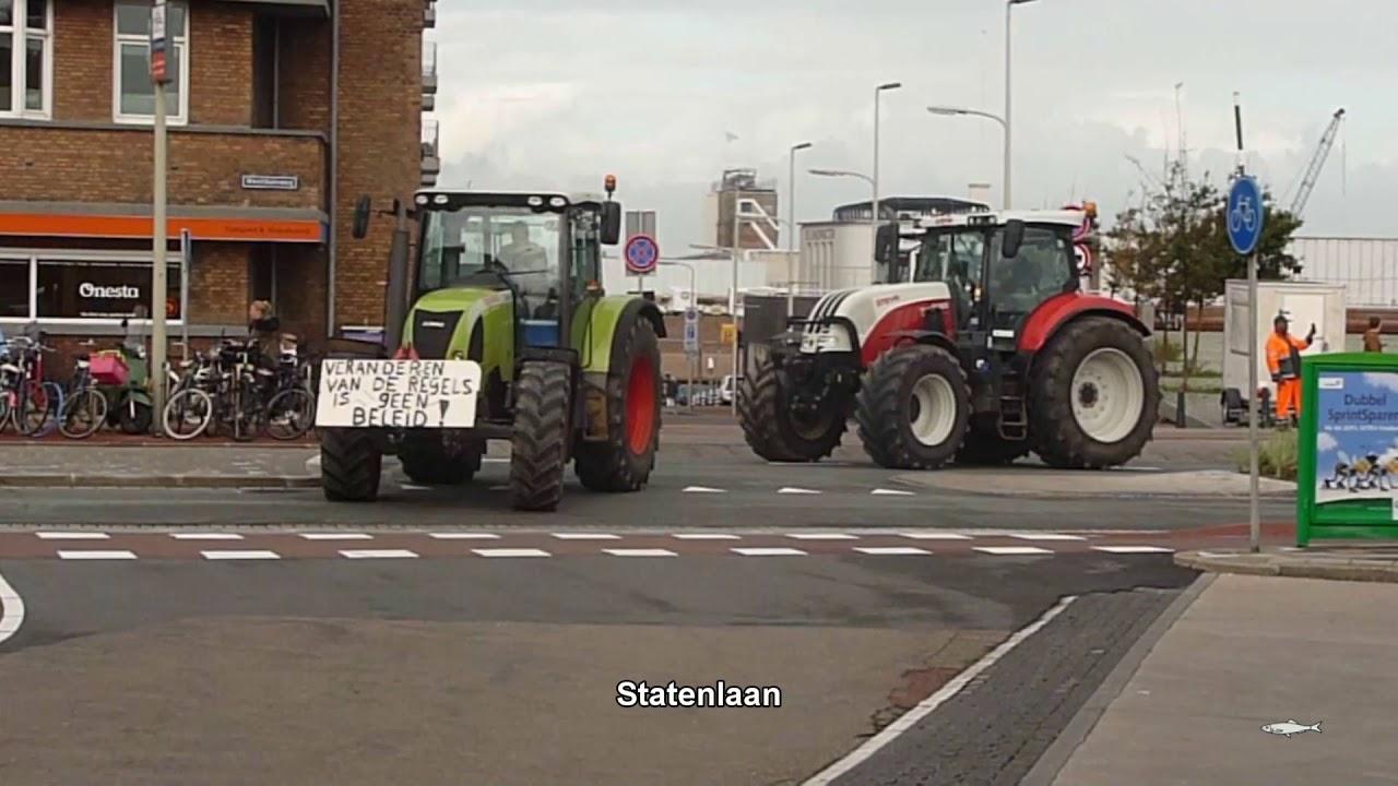 boerenprotest den haag honderden tractoren naar het malieveld