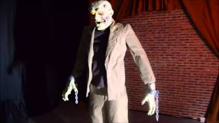 Video 6 foot Animated Re-animated Corpse Frankenstein Monster Halloween Prop download MP3, 3GP, MP4, WEBM, AVI, FLV Agustus 2017