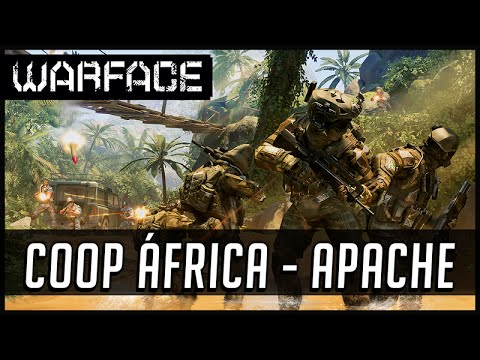 Warface Novo COOP Apache da África