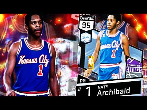 DIAMOND NATE ARCHIBALD GAMEPLAY! IS HE A HIDDEN PINK DIAMOND?! CRAZY ANKLE BREAKER & BUZZER BEATERS!