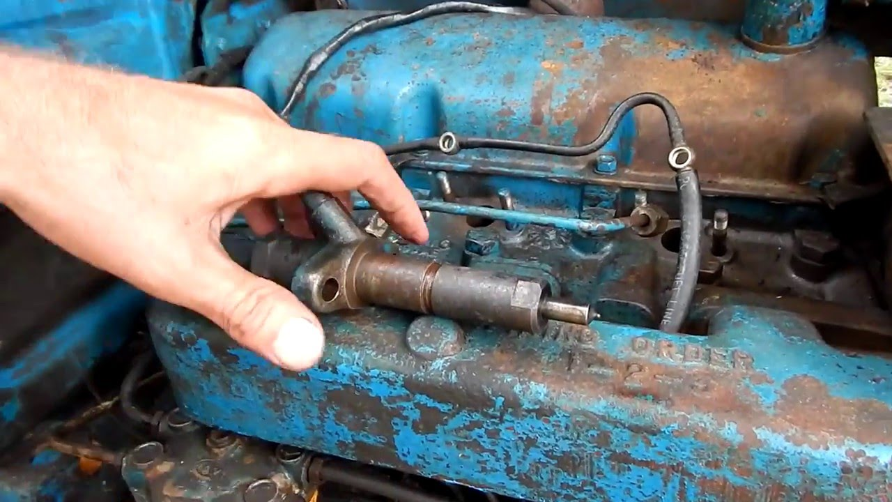 hight resolution of ford 2000 tractor install fuel injectors