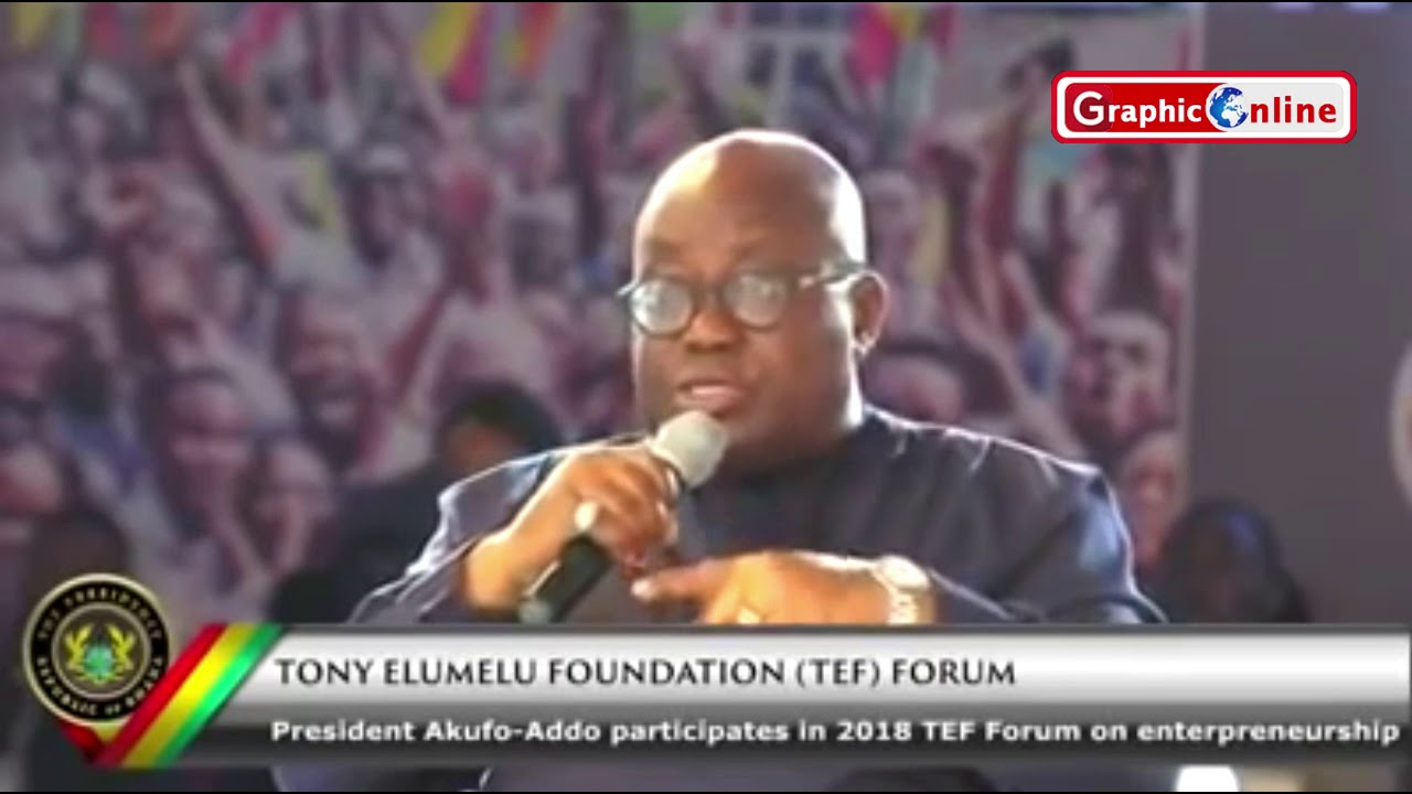 What Akufo Addo said  about borrowing money