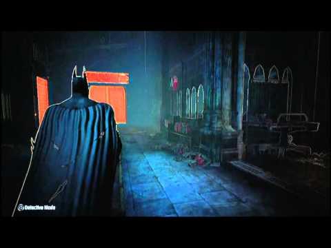 Batman Arkham City- Riddler Trophies Park Row Part 3