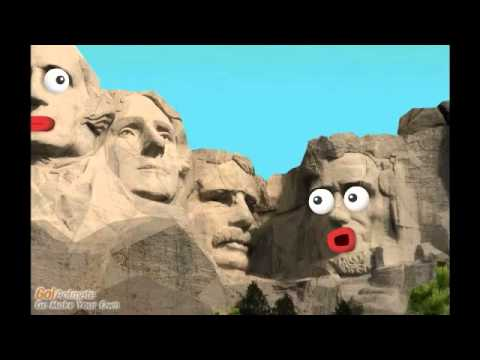 True facts of mount rushmore youtube for Mount rushmore history facts