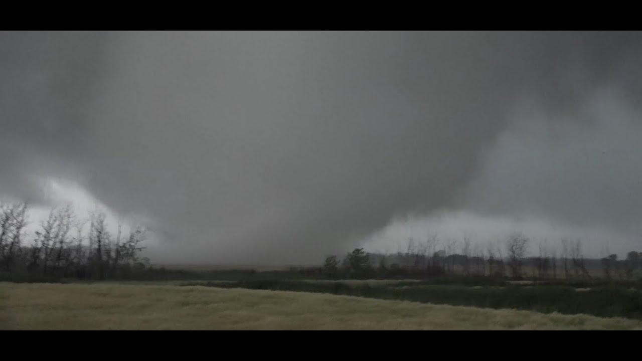 MONSTER tornado intercepted in Manitoba, Canada! - YouTube