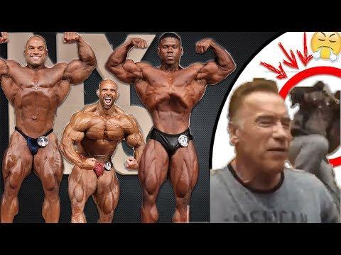 Arnold Schwarzenegger VIOLEMMENT AGRESSÉ en Afrique.. | Ils sont GRAS au NY Pro ?! (Les Résultats !)