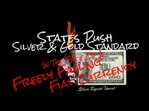Silver & Gold Standard Pushed By States as Freely Floating Fiat Currency Failing