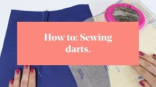 How To: Sewing Darts