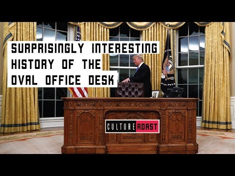 The Surprisingly Interesting History Of The Oval Office Desk