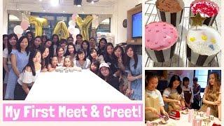 My First Meet & Greet- Bake With Tay Event HONG KONG