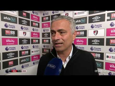 """Defensively awful."" Jose Mourinho post-match interview 