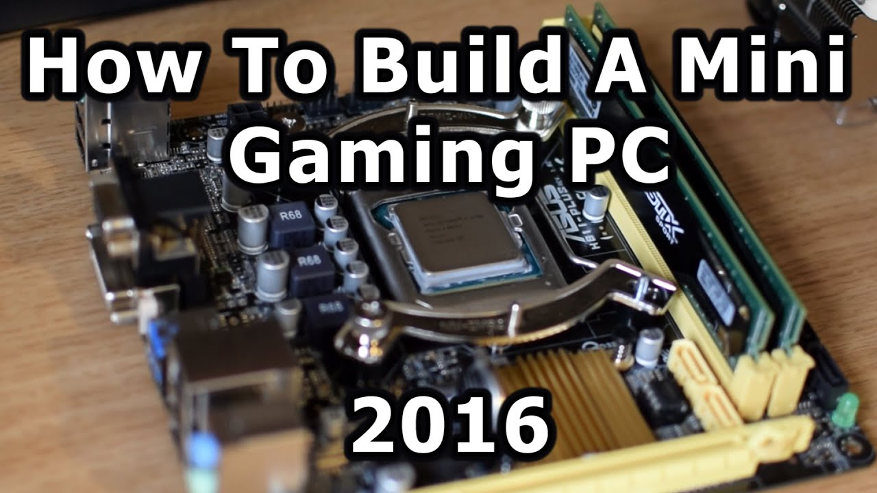 how to build gamming pc