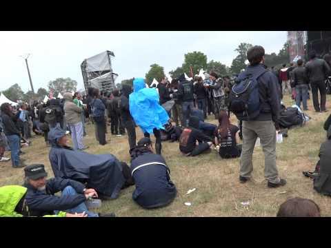 Hellfest2012 - Petite balade sur le site + Heaven Shall Burn