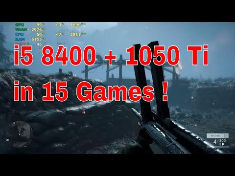 i5 8400 with GTX 1050Ti Gaming test   Will it play at high details ?