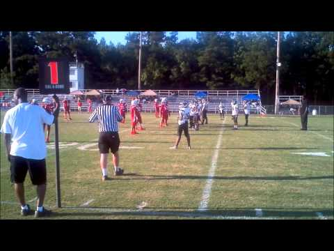2012 Colts Pee Wees vs Neshoba Red Highlights