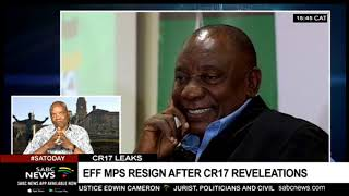 DISCUSSION: Payments from CR17 campaign account claim 2 EFF MPs