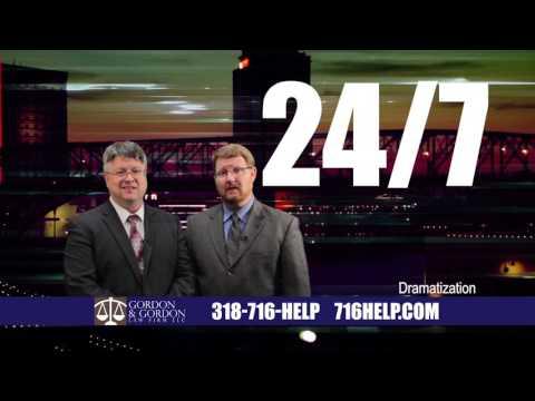 Gordon & Gordon Shreveport LA Accident Attorneys 15 Second Spot