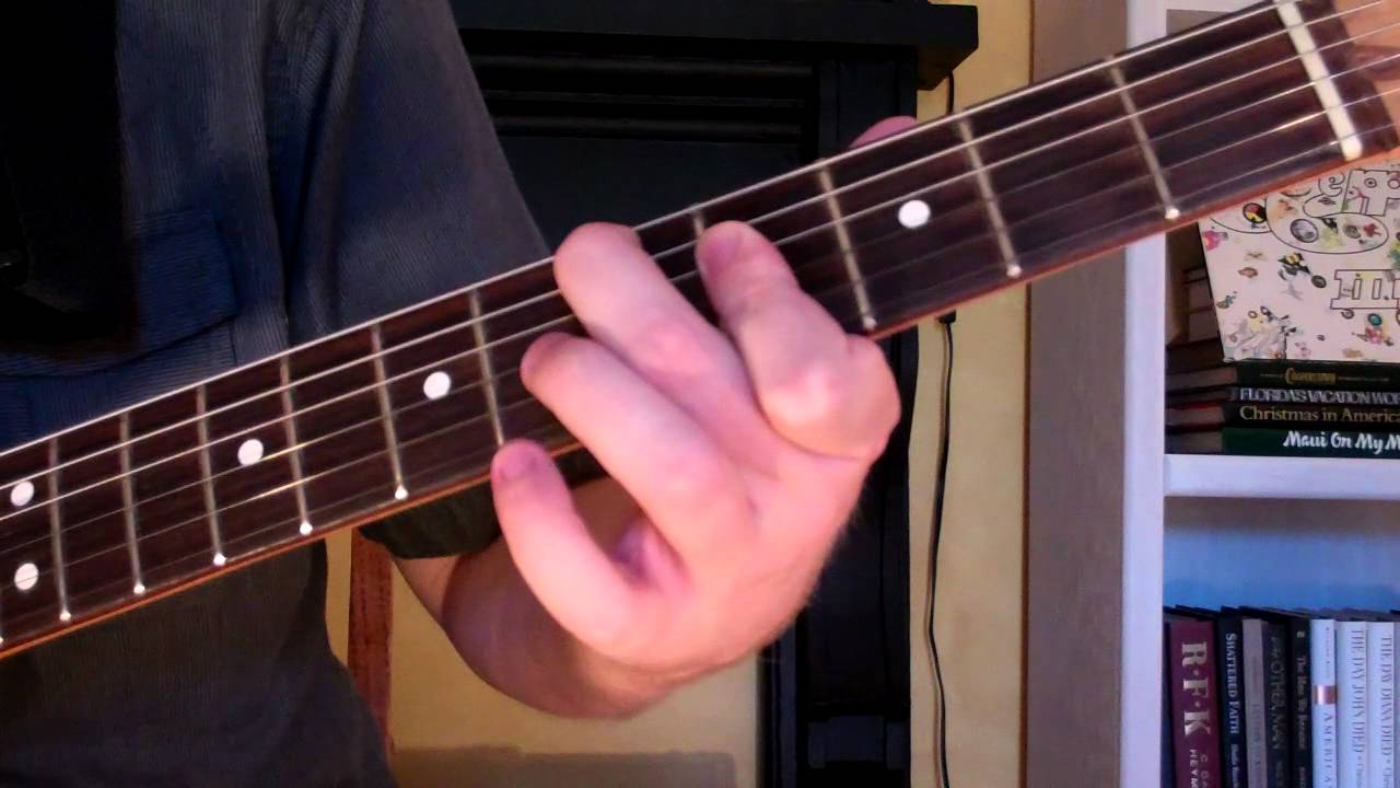 How To Play The D7 9 Chord On Guitar D 7th Minor 9th Youtube