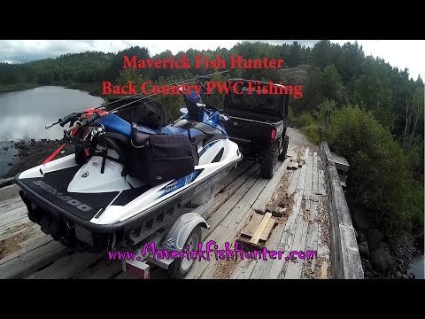 Back Country PWC / Jet Ski Fishing Northern Ontario