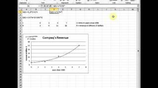 видео Функция экспонента в Excel