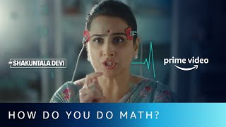 Gambar cover How do you do Math? | Shakuntala Devi | Vidya Balan | Amazon Prime Video | July 31