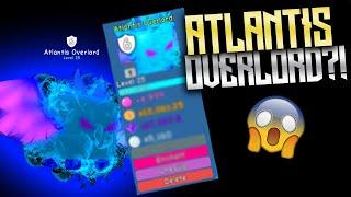 I GOT THE ATLANTIS OVERLORD | BEST ATLANTIS PET | Roblox Bubble Gum Simulator!