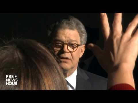 WATCH: Sen. Al Franken holds news briefings about sexual misconduct allegations