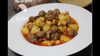 Misket köfteli Patatesli Nogut  Yemeği nasil yapilir? I Ramazan Tarifleri